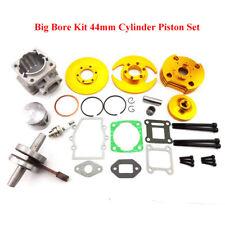 44mm Big Bore Kit Cylinder Head For 47cc 49cc Engine Mini Pocket Dirt Bike ATV