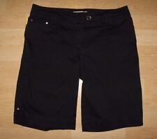 White House Black Market Black Bermuda Walking Shorts Size 4