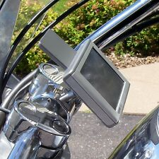 CLEARANCE! eCaddy Ball Motorcycle GPS Mount for Handlebar - Chrome (Buy Direct!)