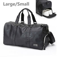 Men Waterproof Travel Sports Gym Bag Duffle Fitness Bags Handbag Large Luggage
