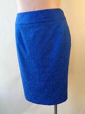 NEW skirt size 8 Brown Sugar cobalt blue skirt lined NWT