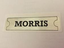 Morris Minor Rocker Cover Sticker Also Mini-minor Oxford Isis Ad016 Etc