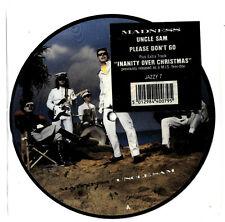 "MADNESS - UNCLE SAM - 7"" PICTURE DISC - Suggs ska stiff two 2 tone cd lp vinyl"