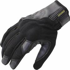 Trilobite Comfee Leather/Textile Vented Motorcycle Glove - Black, All Sizes