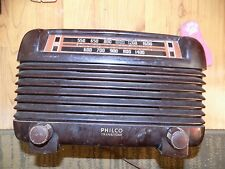 Vintage Philco Bakelite 5 Tube Transitone Vaccum Radio 46-250  - Working