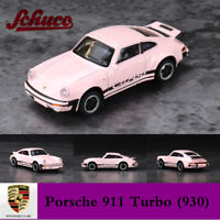 Schüco 1:64 Porsche 911 Turbo (930) Diecast Metal Car Model Limited Collection