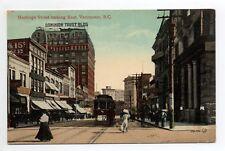 CANADA carte postale ancienne VANCOUVER hastings street looking east