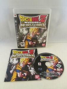 Sony Playstation 3 PS3 - Dragon Ball Z Burst Limit