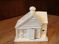 C-0885 Christmas Village Blacksmith Shop Ceramic Bisque U Paint