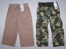 GYMBOREE Lot of 2 Boys Pants Size 3 NWT Beige lined Camouflage Camo Cargo