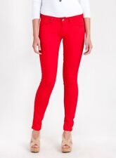 "CRIMINAL DAMAGE  SUPER SKINNY STRETCH JEANS RED (26"")"