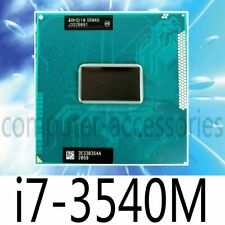Intel i7 3540M i7 2760QM i7 2820QM i7 2860QM i7 2920XM i7 2960XM CPU Processor