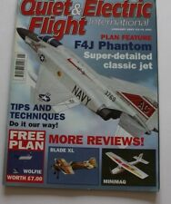 Quiet & Electric Flight International Magazine Issue 59 January 2007 with plan