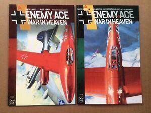 Enemy Ace War In Heaven 1 FN 2 VF Complete Ennis Heath Weston