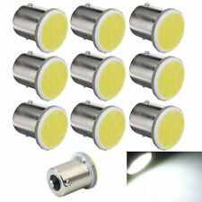 10 un. 1156 LED lámpara de freno led de coche 1156 Lámpara indicadora de advertencia COB 12V Blanco
