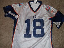 INDIANAPOLIS COLTS Peyton Manning 2007 Super Bowl XLI NFL Jersey Youth XL Reebok
