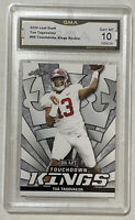 2020 Leaf Draft TUA TAGOVAILOA Rookie Touchdown Kings RC Graded GMA 10 - PSA