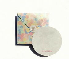 CHANEL Pearlescent GIFT CARD w/ Envelope & Paper Camellia sticker set