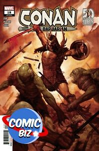 CONAN THE BARBARIAN #18 (2021) 1ST PRINTING GIST MAIN COVER MARVEL COMICS