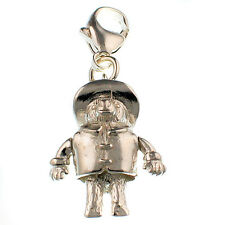 Sterling 925 Silver Welded Bliss British Charm Paddington Bear Clip On Fit