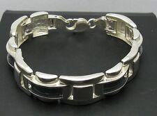 Echtes Sterling Silber Herren Armband massiv punziert 925 handgefertigt