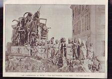 1898  --  CARNAVAL A NICE  LE CHAR DES OISEAUX   Q653