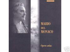 VERDI CILEA PUCCINI OPERA ARIAS MARIO DEL MONACO NEW CD