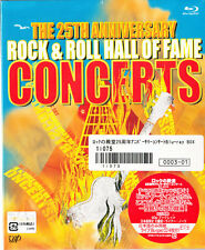 Rock & Roll Hall Of Fame The 25th Anniversary Concerts Japan Blu-ray CD T-Shirt