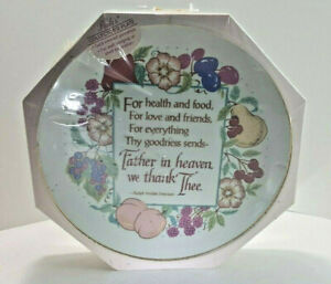 Heirloom Edition *Paula® Gold Rimmed Porcelain Collectors Plate Father in Heaven