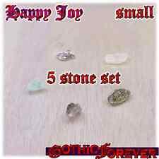 Happy Joy Mood Healing Gemstone Kit Set of 5 10mm SMALL Stones