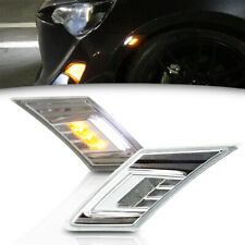 Led Side Marker Lamp for Subaru BRZ Toyota GT86 13-up Clear Lens Turn Signal&DRL