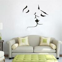 Romantic Mural Lovers Are Kissing Love  Room Wall Sticker Decal Decor  LIN