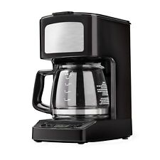 Coffee Maker Compact 5-Cup Digital Small Programmable, Metal filter, Black New