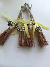 Mini Besom, handmade,driftwood,Summer Solstice,Pagan,Wiccan,Witch