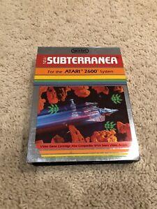 Atari 2600 Subterranea Complete in Box