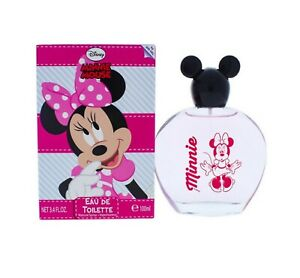 Minnie Mouse by Disney for Girls 3.4 fl. oz. EDT Spray BRAND NEW FACTORY SEALED