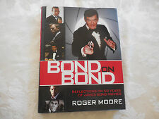 BOND on BOND Roger Moore Reflections on 50 years LIKE NEW RED cover 2012 1st ed