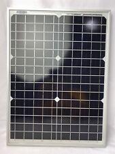 Set of 2 NewPowa High Efficiency 20W Watt 12V Mono Solar Panel Mod Off Grid Boat