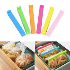 10PCS Sealing Clamp Bag Clip Sealer Closer Food Kitchen Snack Storage Tool
