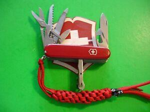 "NTSA SWISS ARMY VICTORINOX MULTIFUNCTION POCKET KNIFE ""RANGER"""