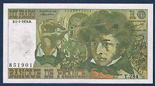 FRANCE - 10 FRANCS BERLIOZ Fayette n° 63.17 du 5-1-1976.B en SUP  T.284 851901