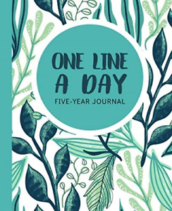 One Line a Day Journal Large Edition: A Five-Year Memory Book Journal for Daily