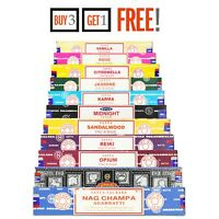 Satya Incense Nag Champa Genuine Joss 15g Insence Sticks Mix Match Scents❤️
