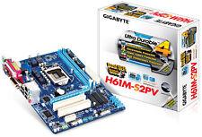 Gigabyte H61M-S2PV Motherboard, LGA 1155, DDR3, Intel H61, Micro ATX, Rev2.2
