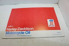 AMF Harley Motor Oil Can Carrier Ironhead XLCH Sportster FL FX Shovelhead NOS