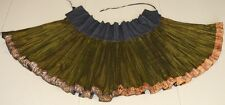 Tribal Exotic Chinese miao people's old hand local cloth pleasted skirt