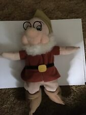 """Disney Snow White and the Seven Dwarfs Doc 10"""" Plush! Used-Excellent"""