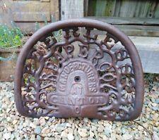 Siège de Tracteur Treckersitz Oldtimer Fonte Sièges Tracteur Antique Style Neuf