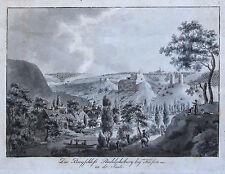 Original vor 1800 Grafik & Drucke mit Landschaft und Kupferstich