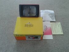 Photax, Solar 4, Colour Slide Viewer in Original Box with Instructions.